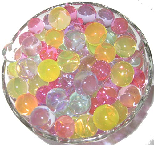 (Hottest  Wedding Centerpiece  Water Beads Cosmo Beads (Tm)  Pastel Colors  8 Ounce Bag Makes 6 Gallons)