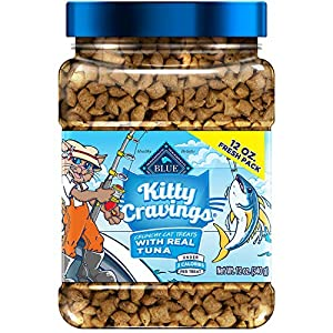 Blue Kitty Cravings Crunchy Cat Treats
