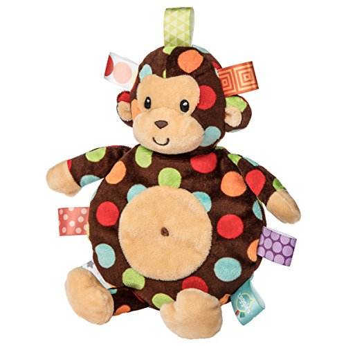 - Taggies Dazzle Dots Monkey Cookie Crinkle Toy