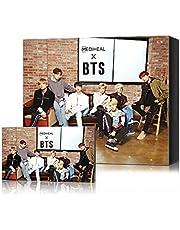 Mediheal X BTS Facial Mask Sheet Special Set/Mask Sheet 10ea + BTS Photocard 14ea (02 Brightening Care)