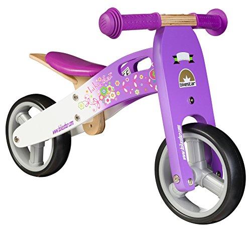 Bikestar 7 Inch  Kids Balance Bike / Running Bike - Wooden -