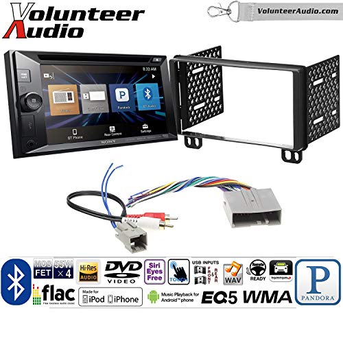 Volunteer Audio Sony XAV-W651BTN Double Din Radio Install Kit w/Bluetooth, Pandora, iPhone Control, USB, AUX, Navigation For 2003-2006 Expedition, 2004-2006 Navigator