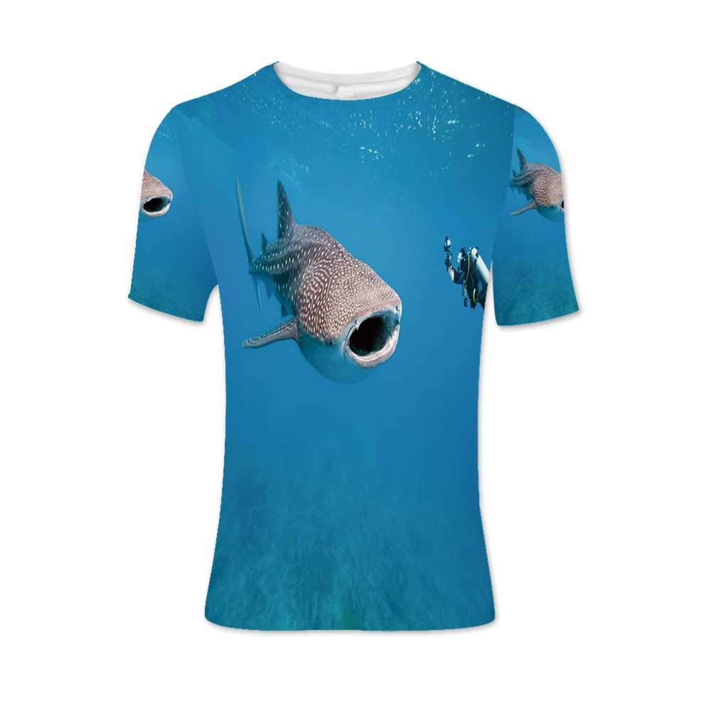 Natural Cave Decorations Fashionable T Shirt,for Men,S