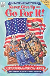 Letters from American Heroes with Sticker (Never Give Up & Go for It!)