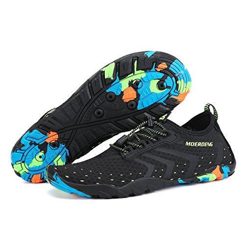 MOERDENG Men Women Water Shoes Quick Dry Barefoot Aqua Socks Swim Shoes for Pool Beach Walking Running by MOERDENG (Image #4)