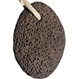 Pumice Stone for feet and foot scrubber - Ideal exfoliating Feet scrub dead skin removal – pummus pumace pumis piedra pómez - Natural Lava stones callus removal