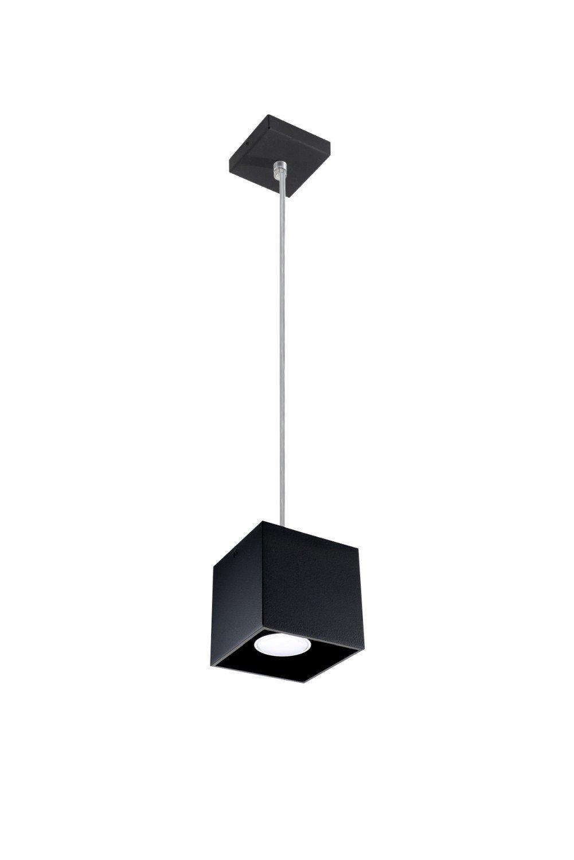 Bauhaus - Lámpara de techo (Diseño hogar, en negro, pantalla ...