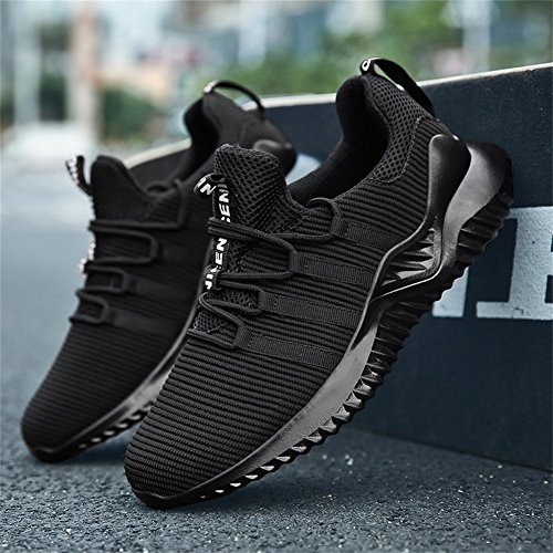 Leggere Corsa Traspirante 2 Running Ginnastica TUOKING da Scarpe Uomo Moda Sneakers Scarpe Sportive da Nero 70YgEWqwPg