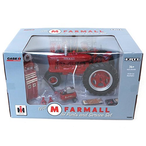 1/16 1939 IH Farmall M Parts & Service Set