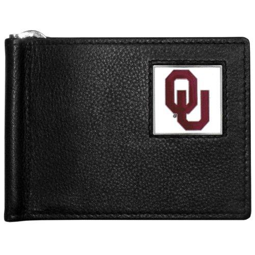 NCAA Oklahoma Sooners Leather Bill Clip Wallet