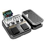 beaspire NUX MG-100Procesador de pedal de guitarra eléctrica multi-effects Instrumento Musical Partes para electrónica Guitarra y Bajo