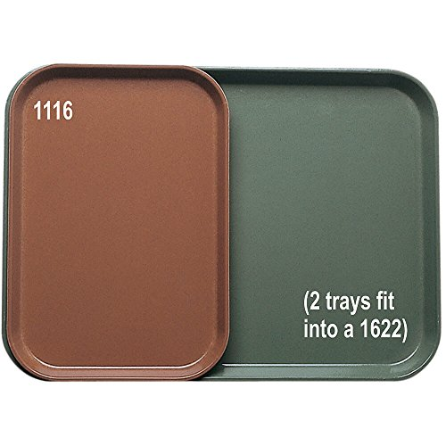 Cambro Key - Camtray, Insert 10-7/8'' X 15-7/8'', 2 Fit Into A 1622, Key Lime, Nsf Special Order Item Not (24 Pieces/Unit)