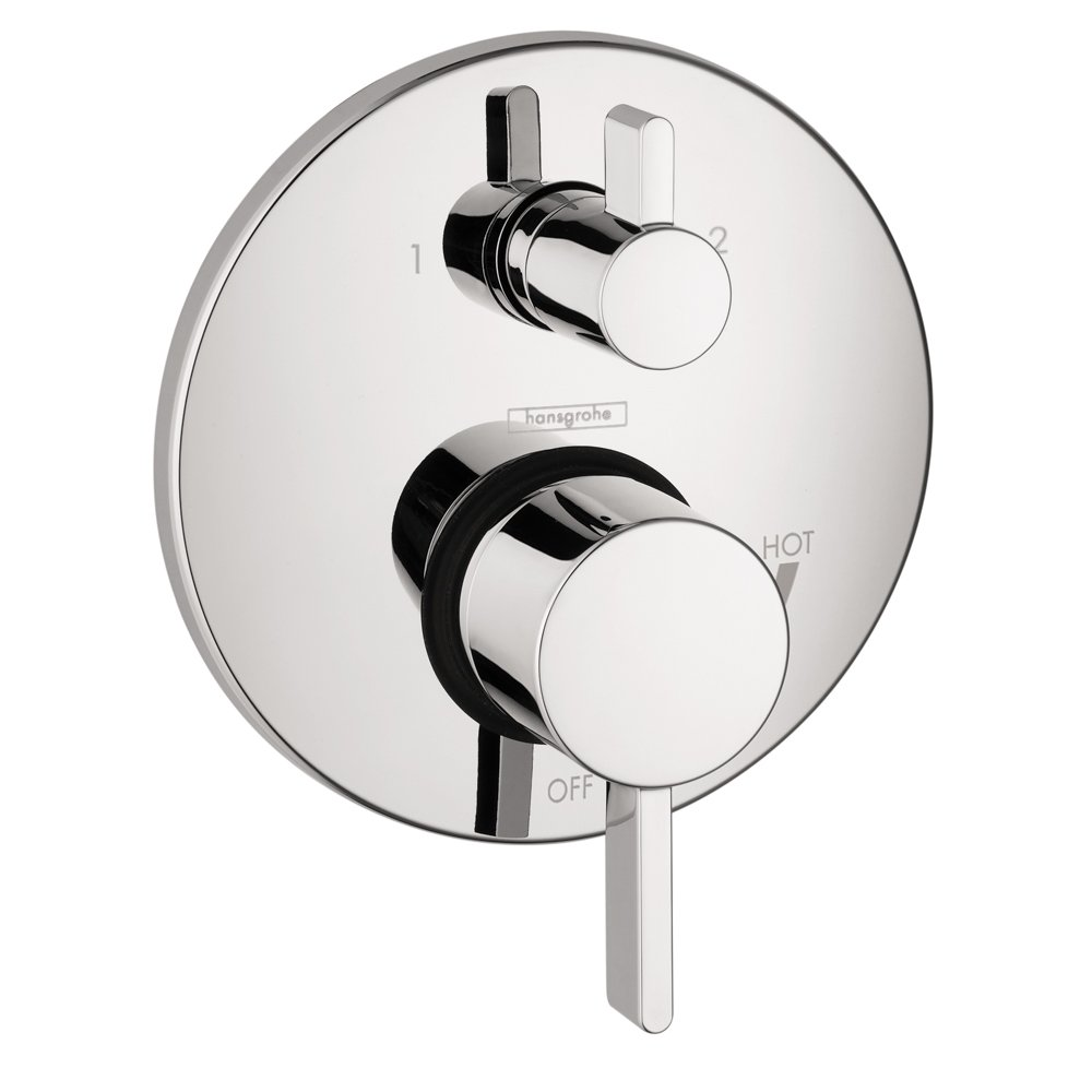 Hansgrohe 4447000 S Trim Pressure Balance With Diverter Chrome Shower Faucet Repair Parts Besides Valve Diagram Kits