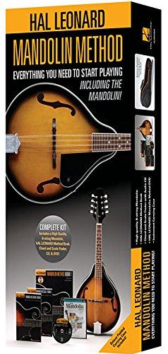 (Hal Leonard Mandolin Method Pack: Includes a Mandolin, Method Book/CD, Chord and Scale Finder, DVD, and Case)