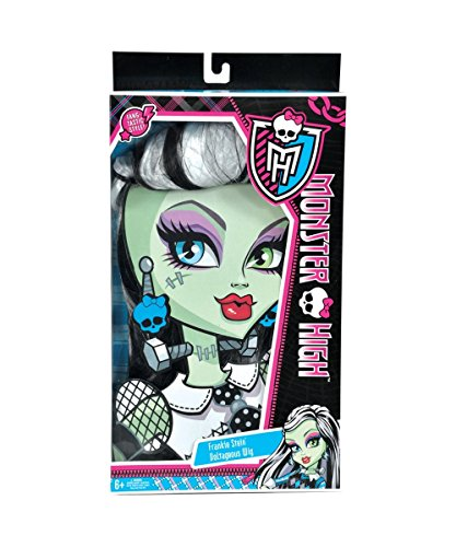 Monster High Frankie Stein Wig, Black and White]()