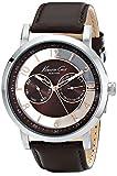 Kenneth Cole New York Men's KC8080 Dress Sport Analog Display Analog Quartz Brown Watch