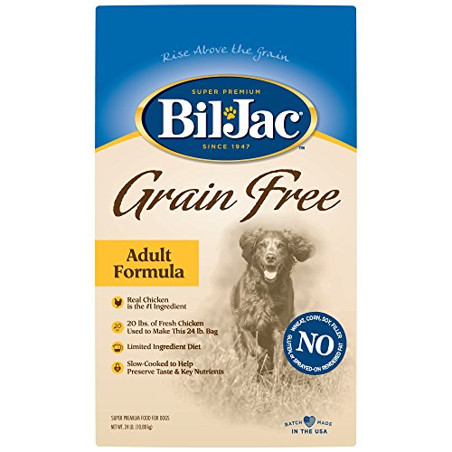 Bil-Jac Grain Free Adult Dog Food, 24 lbs.