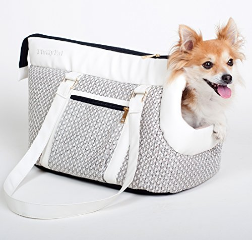 Luxury Designer Doggy Carrier Purse - Premium Pet Carrier Purse To Make A Stressful Situation Easier for You & Your Pet! Wear This Small Dog Carrier Purse & Look Fashionable While Traveling