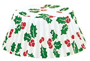 Fox Run Christmas Petit-Four Bake Cups, 100 Per Pack