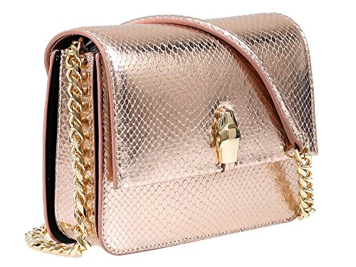 Roberto Cavalli Class GWLPCI 109 Milano Rmx 0 Rose Gold Small Shoulder Bag for ()