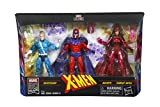 "Marvel Legends Series Exclusive 6"" Family Matters 3 Pack with Magneto, Quicksilver, & Scarlet Witch Action Figures (Amazon Exclusive)"