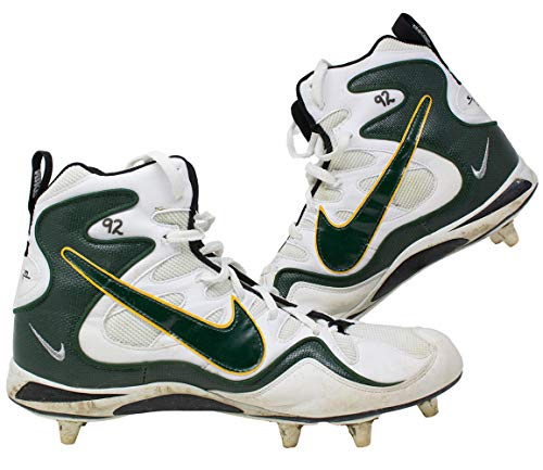 (Reggie White Green Bay Packers Game Used Cleats Sept. 1st 1997 Vs Chicago Bears)