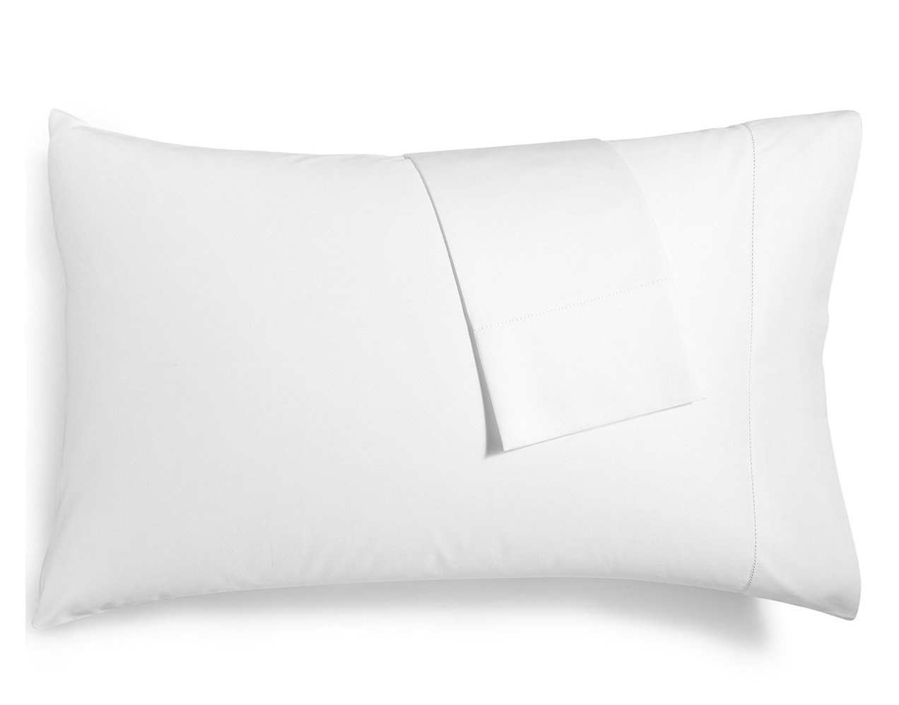 Hotel Collection Pair of 680 Thread Count 100% Supima Cotton Standard Pillowcases White