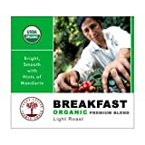 Our premium Breakfast Blend is a favorite, lightly-roasted coffee. This 100% Certified Organic & Farmer-Owned, Breakfast Blend is come directly from our family farmers. It is delicious: Bright, Complex with Hints of Mandarin. Fresh-roaste...