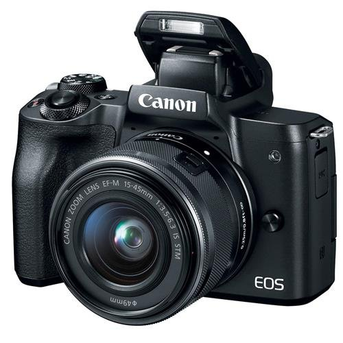 Canon EOS M50 with Kit lens