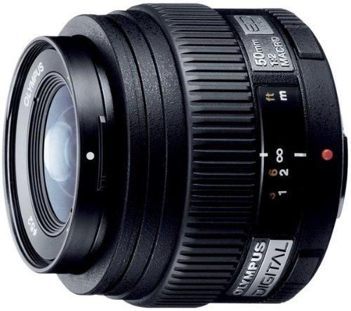 Olympus 50mm F2 Macro ZUIKO ED Digital Lens - includes Lens Hood & Case