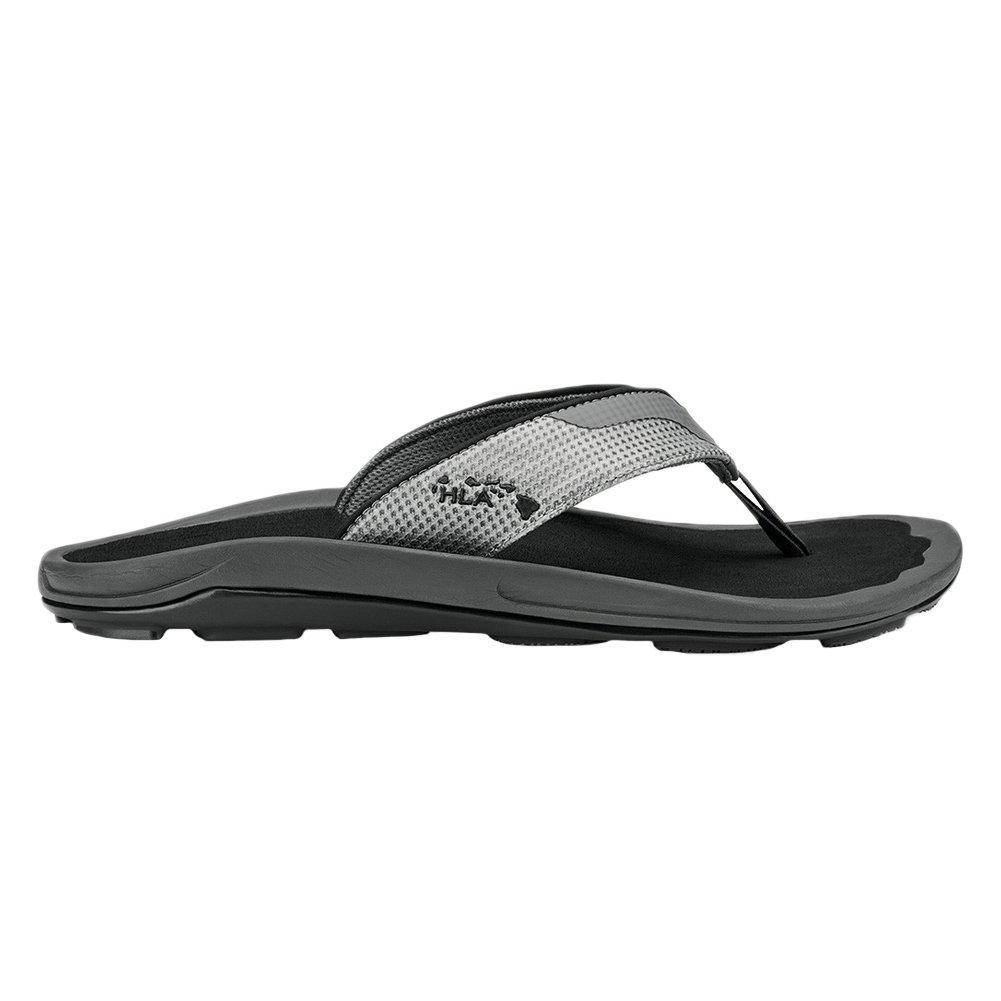 Olukai 10322 hombre makolea Sandal 8 D(M) US|Negro (Dark Shadow/Black)