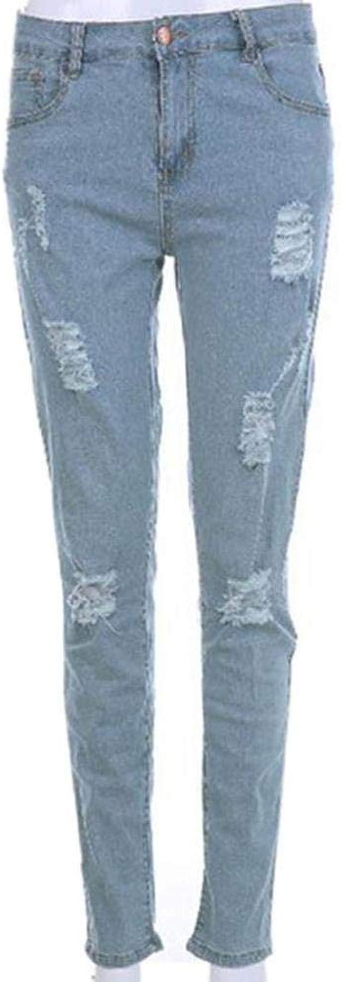 Denim Pants Printemps Jeans Biker Rider Extensible Skinny