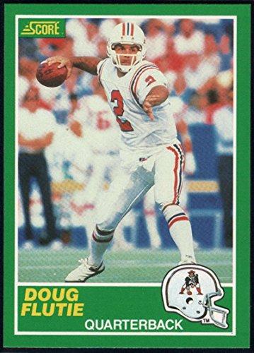 Football NFL 1989 Score #243 Doug Flutie ()
