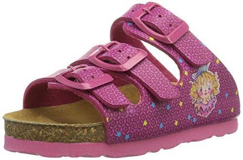 Prinzessin Lillifee 500186, Mädchen Flache Hausschuhe, Pink (pink), 32 EU