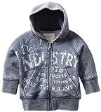 51NXJLpvR L. SL160  Diesel Baby Boys Infant Sonkyb Washed Zip Hoodie, Navy, 6 Months