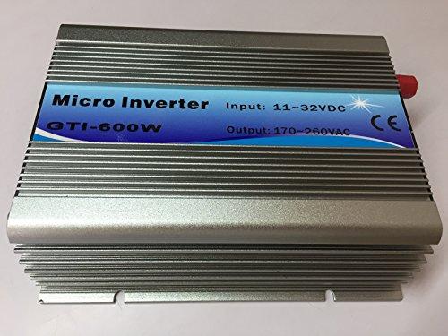 Blue color 600W grid tie solar inverter 10.8-30VDC pure sine wave power inverter by Unknown (Image #2)