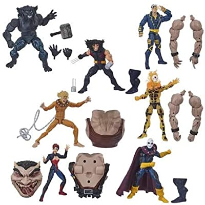 X-Men Marvel Legends Wave 5 Set of 7 Figures (Sugar Man BAF): Toys & Games
