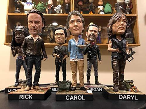 Royal Bobbles The Walking Dead Michonne Bobblehead SG/_B076F9XB9C/_US