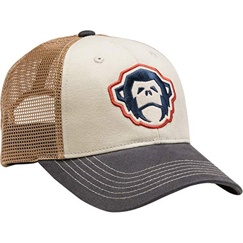Howler Brothers El Mono Trucker Hat Off White/Navy, One Size