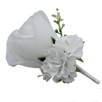 Amazon.com: WeddingBobDIY, broche decorativo de rosa para ...