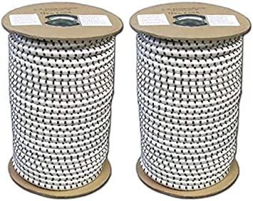 Evans Cordage Co. T.W Evans Cordage SC-108-100 1//8-Inch by 100-Feet Elastic Bungee Shock Cord T.W