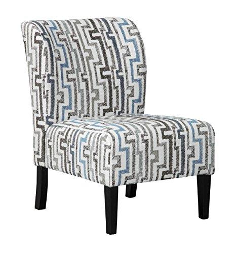 Benchcraft Alsen Contemporary Print Accent Chair – Granite