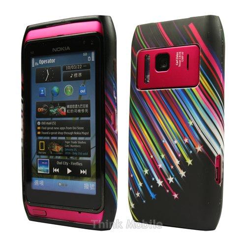 Nokia Lumia 920 Caso Elegante - Transparente S-Line TPU Gel Funda Case Para Nokia Lumia 920 - thinkmobile Schießen Stars
