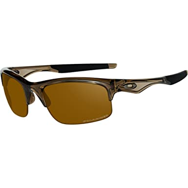 7e9b7f1227 Oakley Men's Bottle Rocket Polarized Iridium Rectangular Sunglasses, BROWN  SMOKE, ...