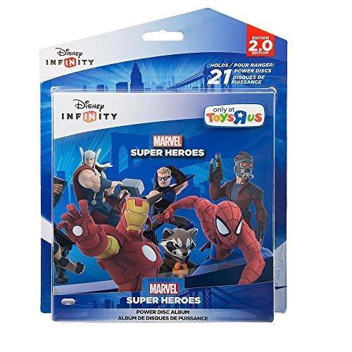 Faith Love Treasure By (Disney Infinity Marvel Super Heroes Theme Album - Holds 21 Power Discs)