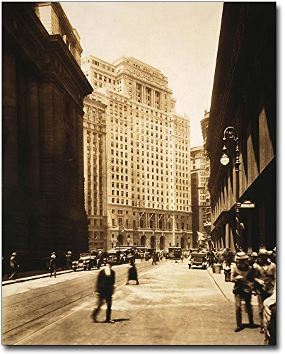 Cunard Building, New York City 1921 11x14 Silver Halide Photo - Building Cunard