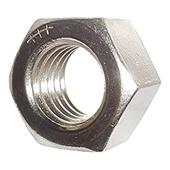 9 16 12 Finished Hex Nuts Stainless Steel 18 8 Plain Finish
