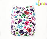 LilBit Washable Adjustable One Size Baby Pocket Cloth Nappy with inserts