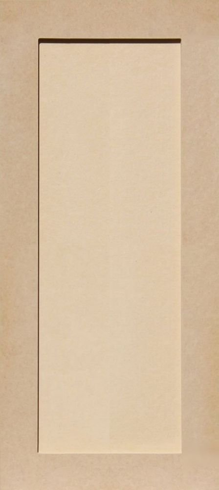 29H x 13W Unfinished Shaker Cabinet Doors in MDF by Kendor