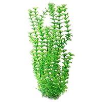 Uxcell Aquarium Manmade Underwater Grass/Plant, 15-Inch, Green